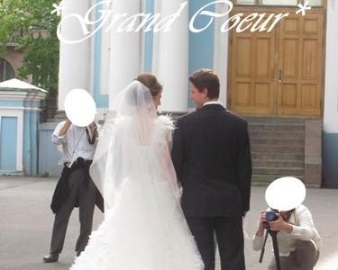 ロシアの結婚式花束たち